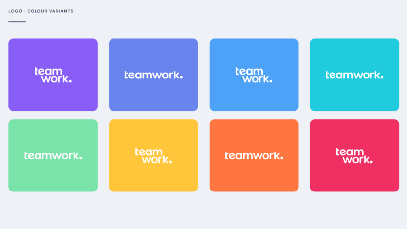 Teamwork color palette