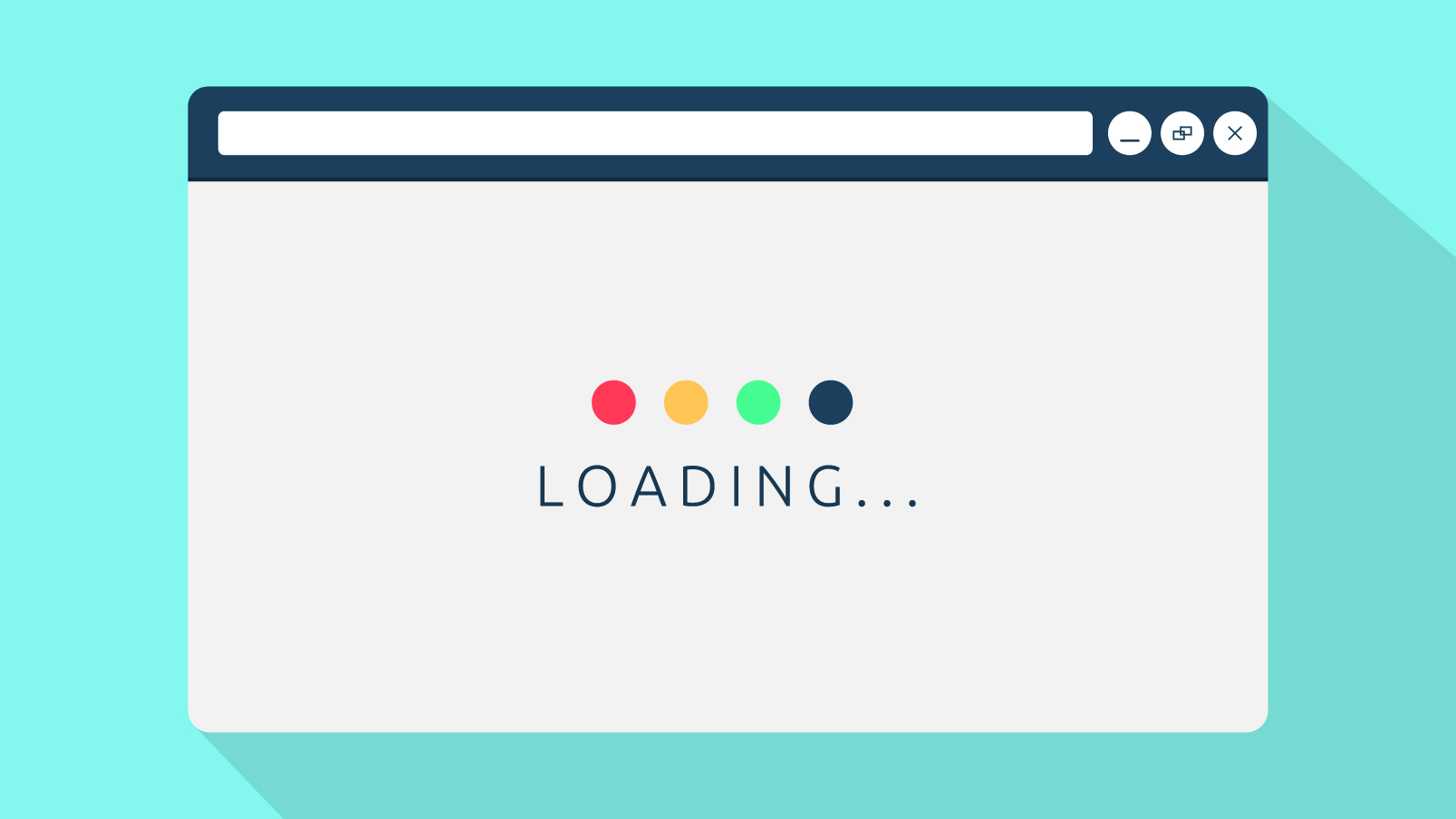 Page loading illustration