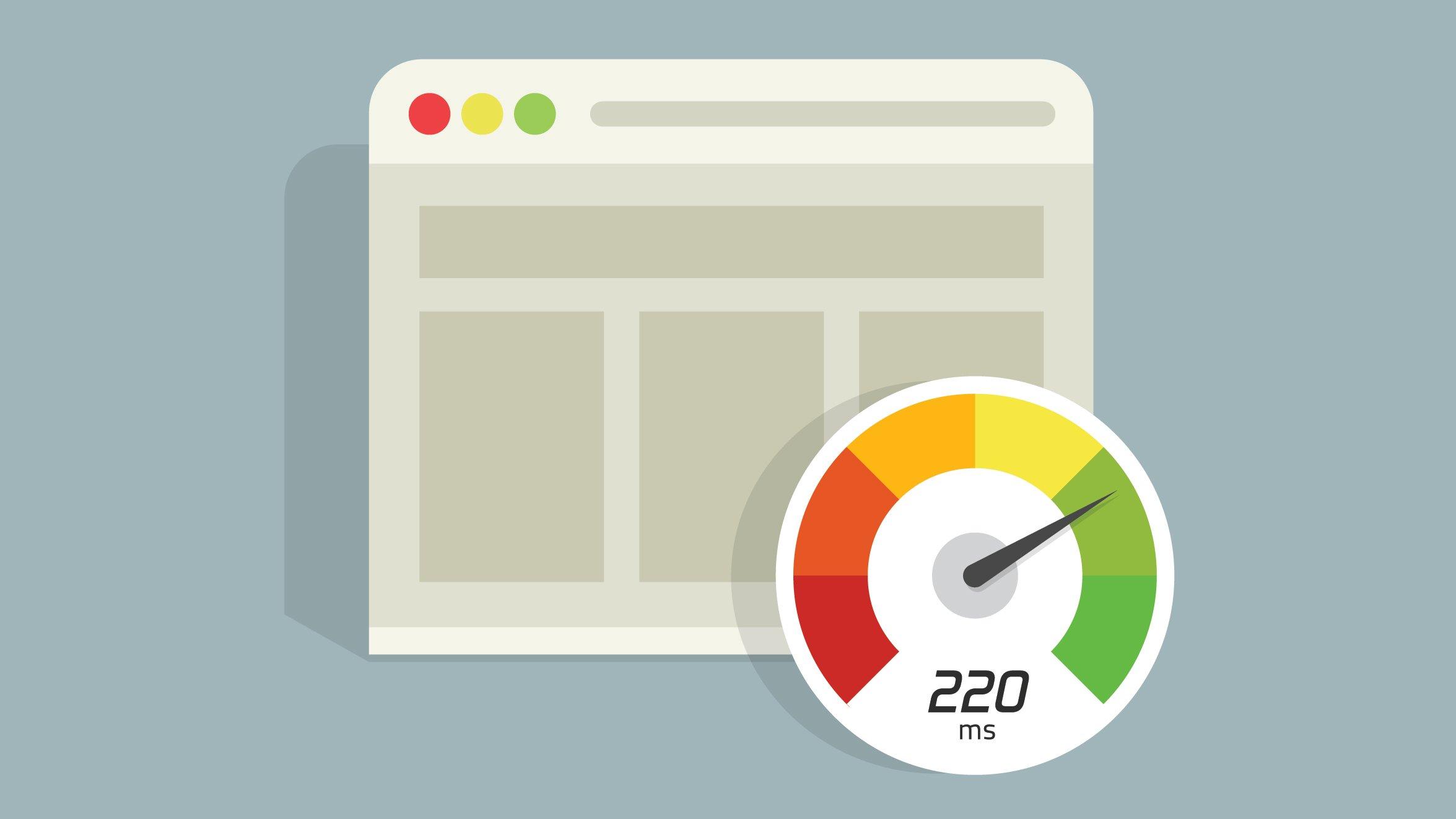 Improve site speed illustration