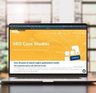digital marketing case studies screenshot