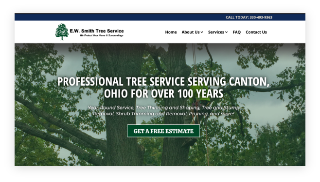 E.W. Smith Tree Service